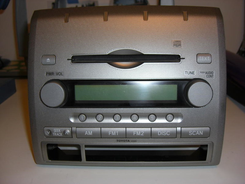 2006 Toyota Tacoma stock AM/FM Radio/CD Player (single disk)-cimg1524.jpg