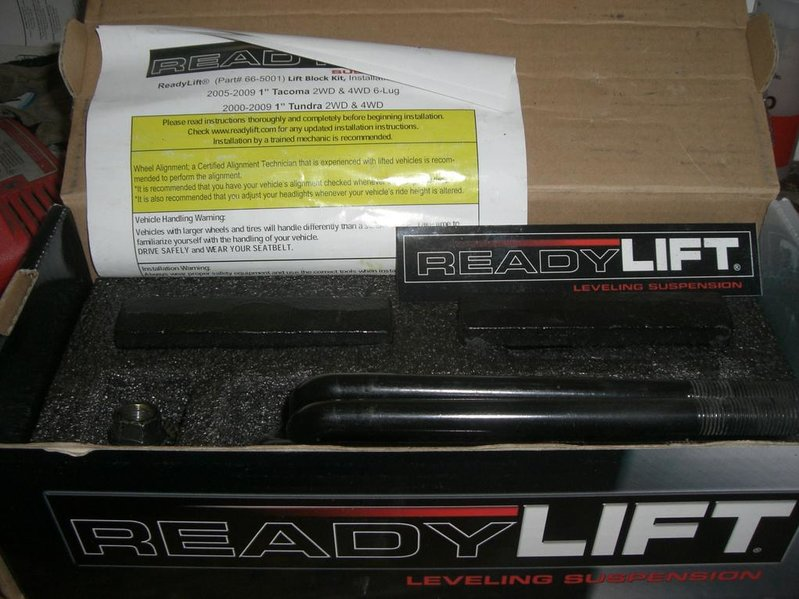 "FS: ReadyLift 1"" blocks and sound mat-cimg2689.jpg"