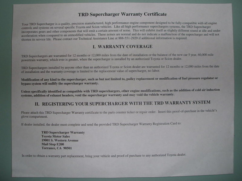 TRD supercharger Warranty and stickers-dscf2051.jpg