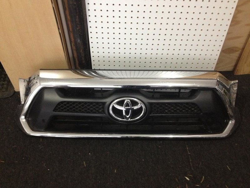 For Sale: 2013 TRD OR Chrome Grill, Front Bumper, Chrome Rear Bumper-grill.jpg