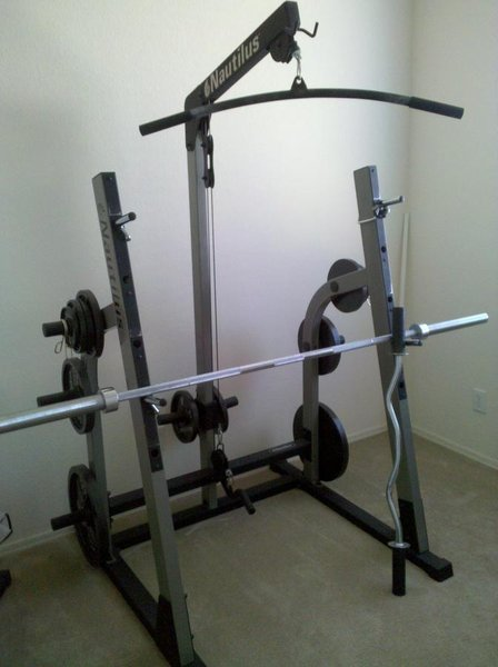 Fs Nautilus Bench Squat Rack Gym W Weights Tacoma World