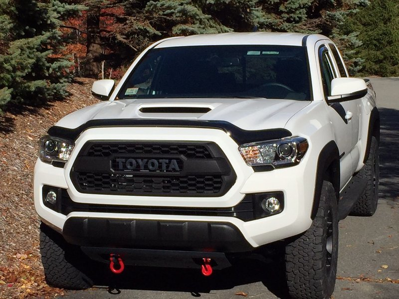 trd pro grille letters tacoma world. Black Bedroom Furniture Sets. Home Design Ideas