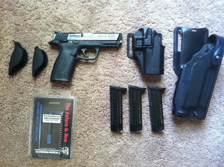 S&W M&P 9mm with holsters for sale-image.jpg