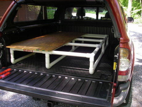 Sleeping Bed Frame Back Of Suv