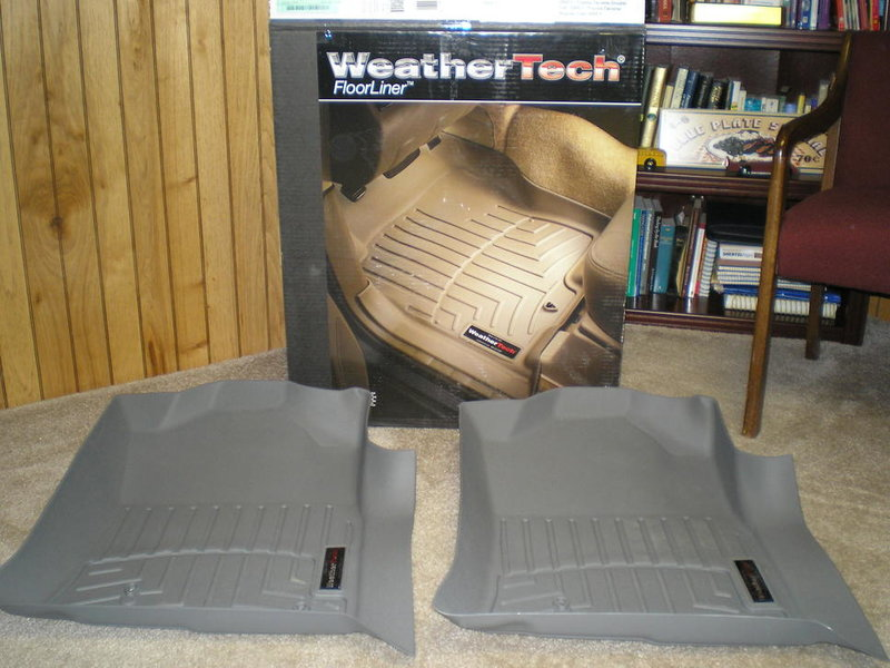 WeatherTech Passenger Side Liners - Gray (2) for 2005-2009 Tacoma-p2200334.jpg