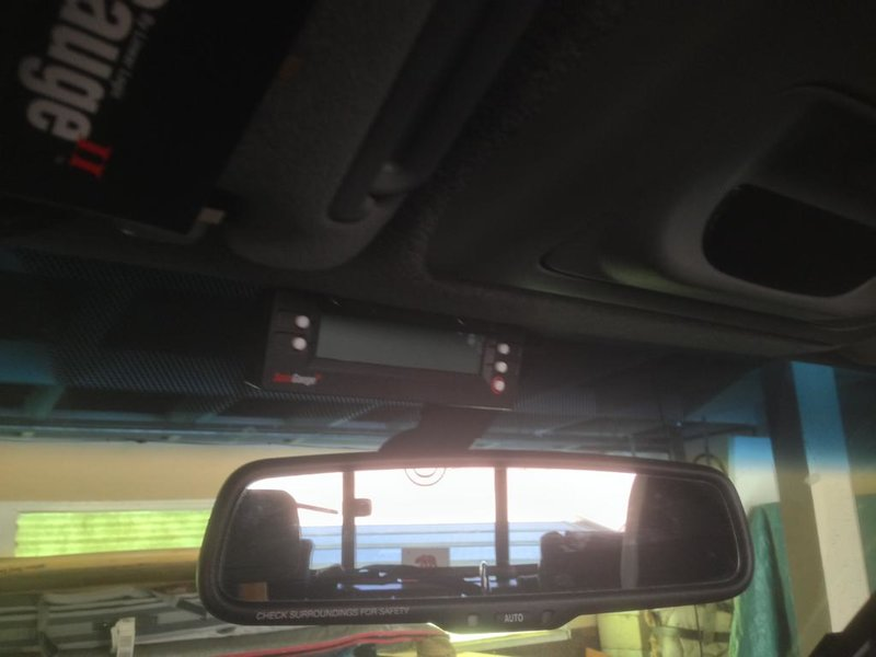 DIY:  Install of a Scangauge II using a Blendmount rear view mirror mount.-photo-1-.jpg