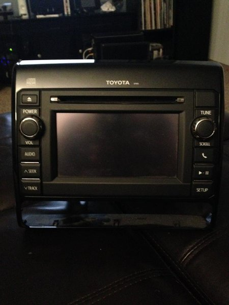 2013 Tacoma Touch screen/BT head unit-photo-1.jpg