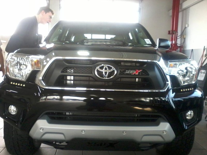 "Toyota Ta A Xsp 2015 >> New ""skid plate"" on 2012's 