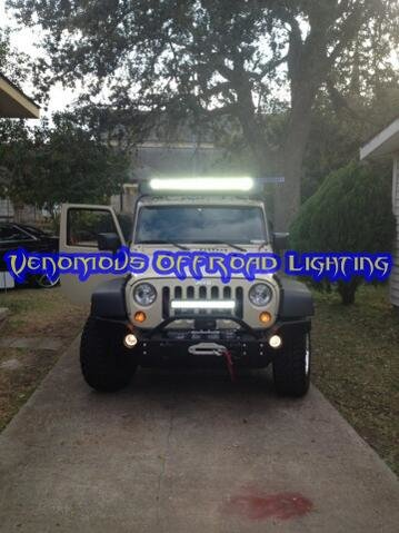 "12"" Double Row LED OFF-ROAD Bar BNIB 72Watts & 5,040 Lumens for sale in HOUSTON,TX-shawns-20jeep1.jpg"