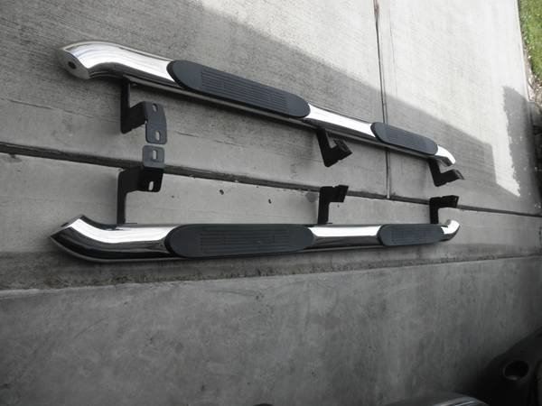 Chrome Nerf Bars in Houston-sidesteps2.jpg