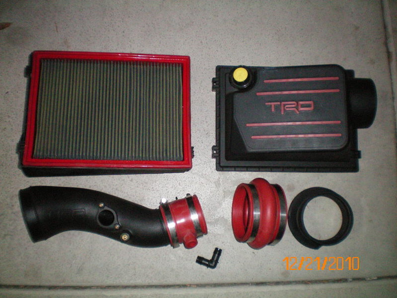 TRD COLD AIR INTAKE - TACOMA 4.0 V6 - EXCELLENT CONDITION - NEW MODEL.-trd1.jpg