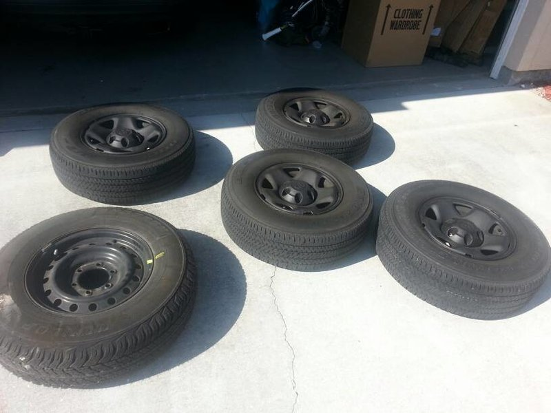Stock 6 lug steelies + spare + tires (Florida)-uploadfromtaptalk1370024376451.jpg