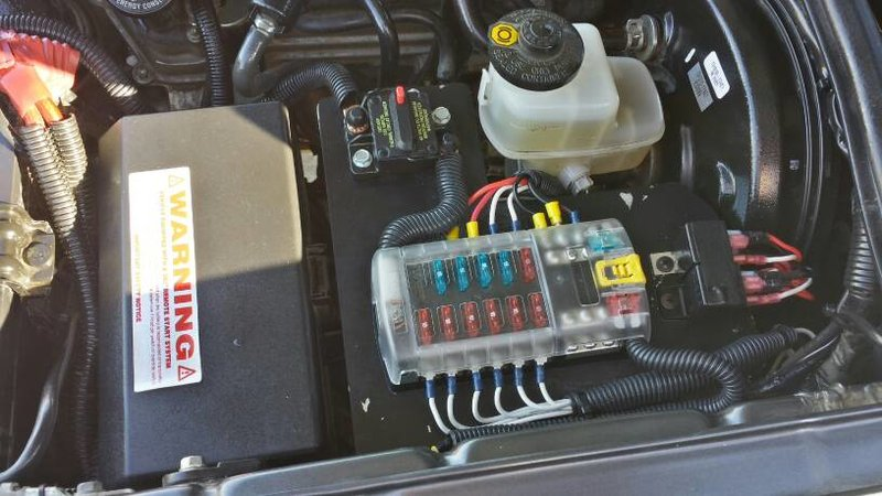 Diy Fuse Box Car : Diy auxiliary fuse box power distribution panel kia forum