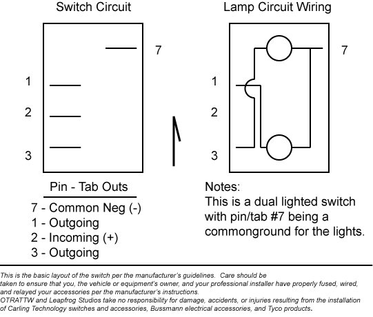 carling contura switch wiring diagram wiring diagram carling lighted switch wiring diagram nilza