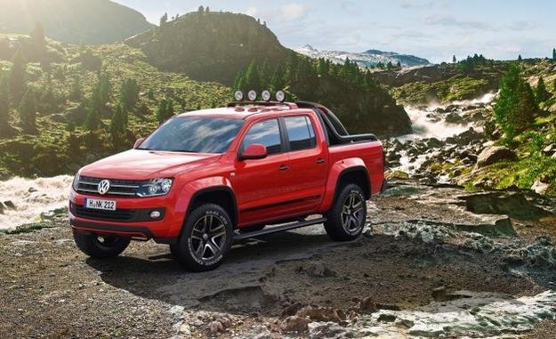 141072D1331071085 Vw Truck Not Bad Looking Volkswagen Amorak Canyon Concept Placement 626X382
