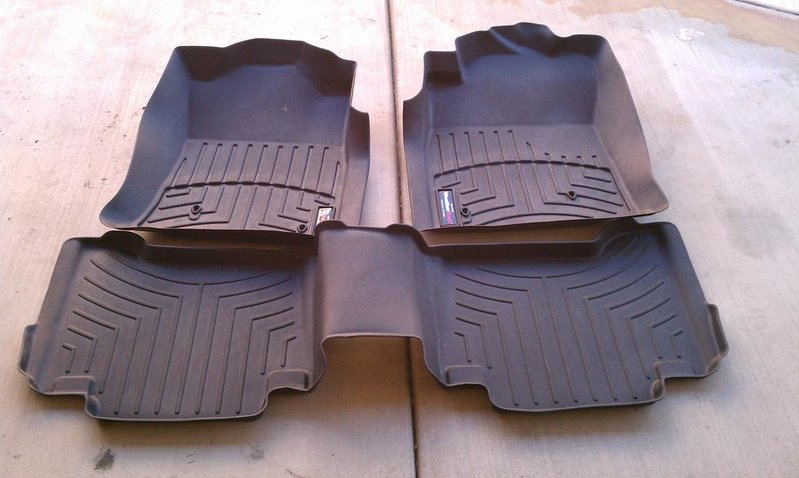 WeatherTech digital floor mats problem. - AcuraZine - Acura Enthusiast Community