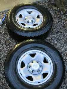"4 Tacoma 16"" Steel Wheels 6 lug with TPMS and Lug Nuts  0.00-wheel1.jpg"