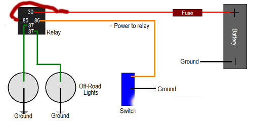road lights wiring diagram efcaviation