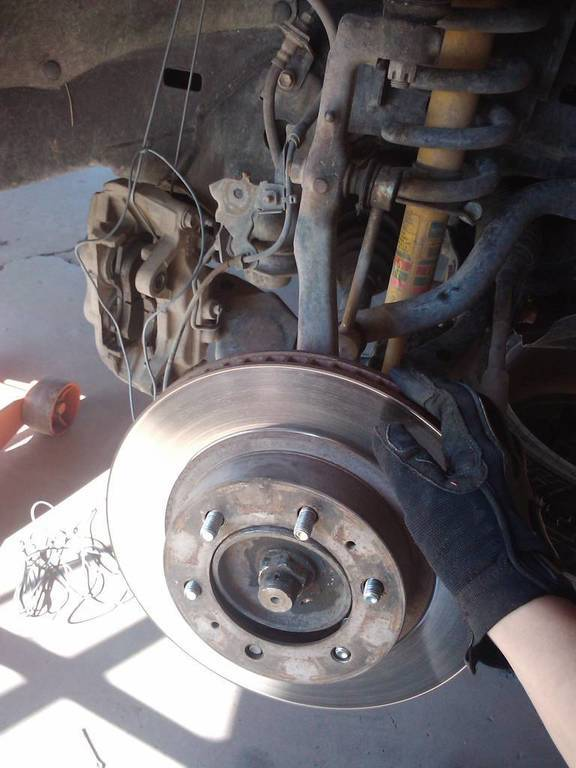 How to remove cv axlereplace front wheel bearing 2nd gen tacoma img sciox Gallery