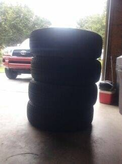 My new used tires.