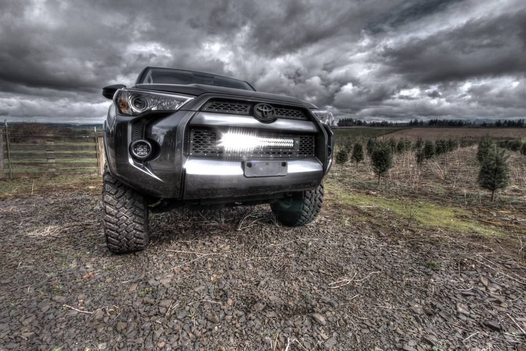 Rigid Industries 2014 4runner Led Grille Expedition