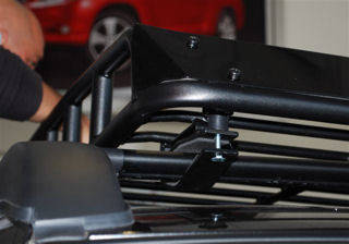 Double Cab roof basket to factory rack