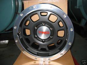 FJ Gunmetal Beadlock