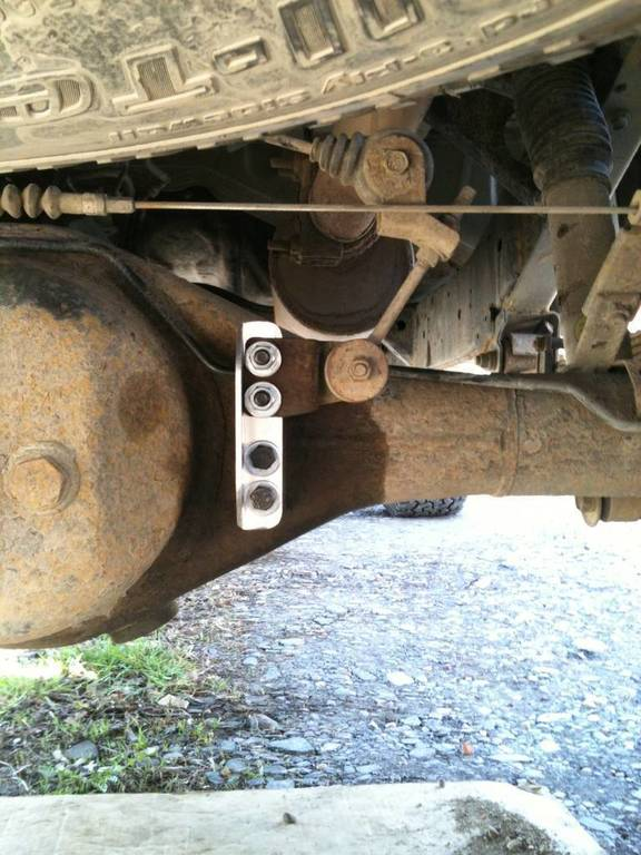Brake Bracket on 2010 Tundra Rear Leaf Springs