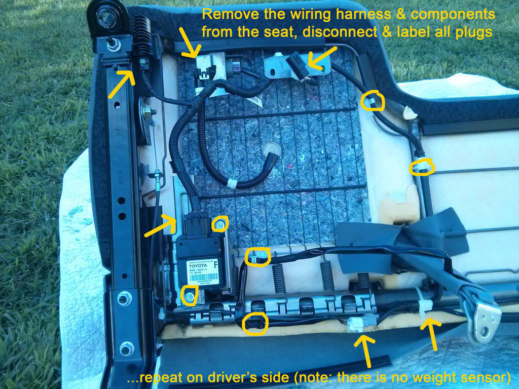 Wire Harness Bench Wiring Diagram Tester To Trd Bucket Swap In 2006 Tacoma Boom World Ignition