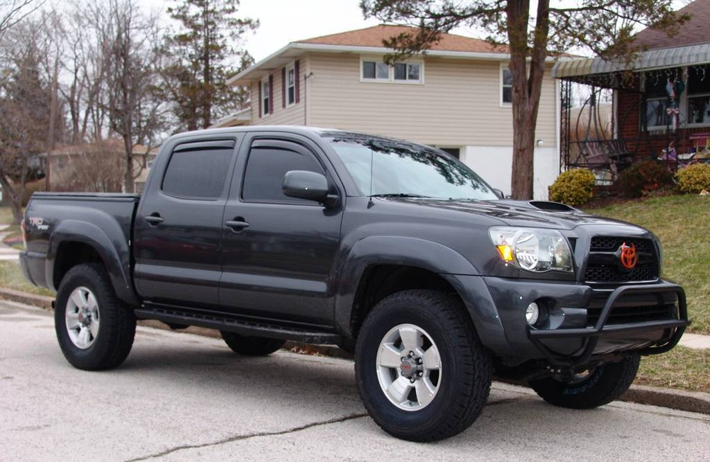 Pics Of Egr Or Weathertech Window Deflectors Tacoma World
