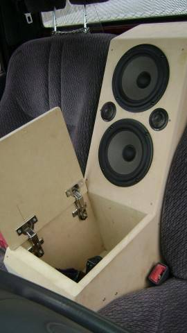 how to build a speaker box for a truck