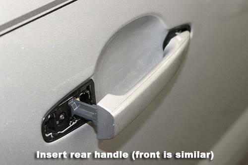 How To Replace 2nd Gen Exterior Rear Door Handles On Double Cabs