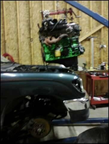 Dropping motor