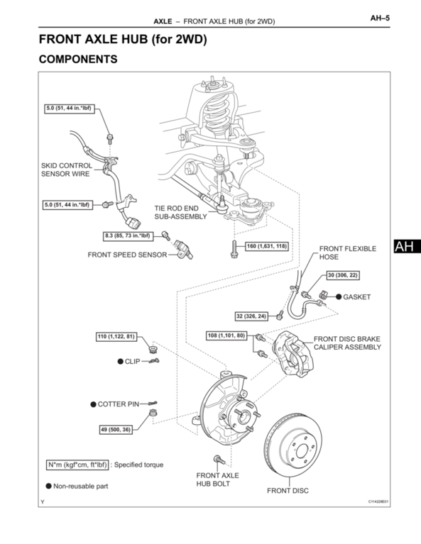 The Torque Spec Guide Tacoma World Rh Tacomaworld Com 1996 Toyota Tacoma  Parts Diagram Toyota Tacoma