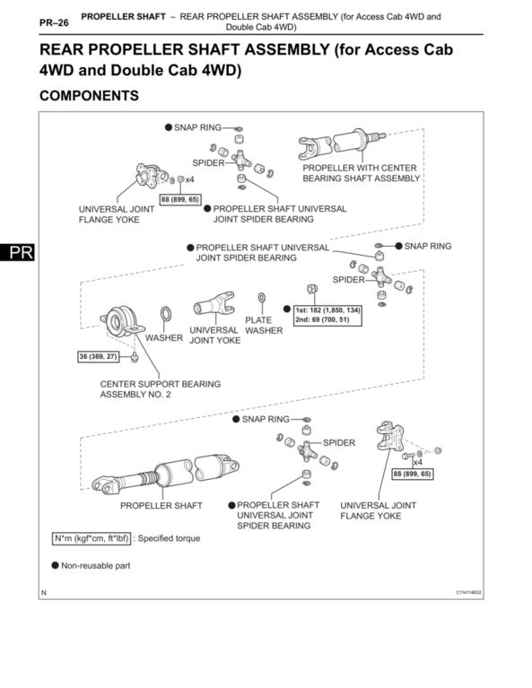 the torque spec. guide | tacoma world 2005 toyota tacoma wiring diagram #11