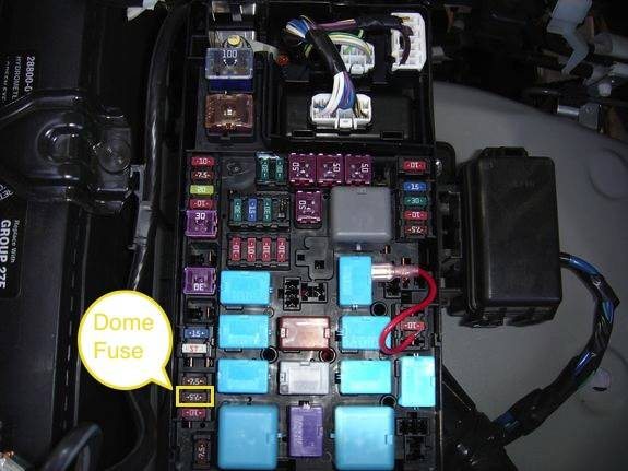 Help Interior Fuse Box Ta a World on toyota tundra battery