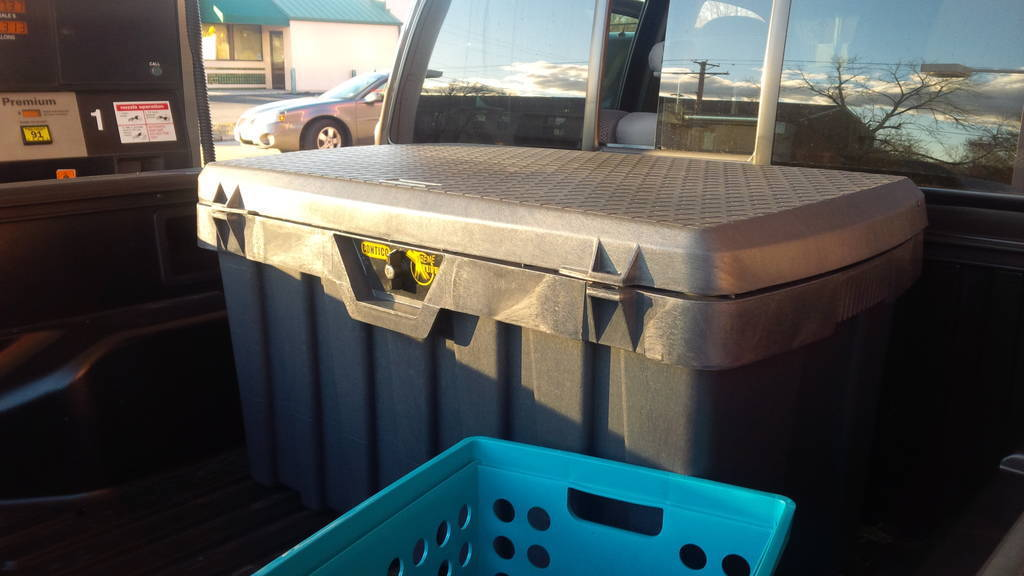 Removable Storage Box for Truck Bed Tacoma World