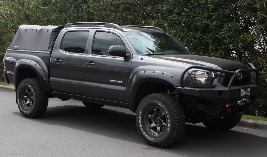 Toyota Tacoma Tow Package The Bullaculla Build (pic heavy)