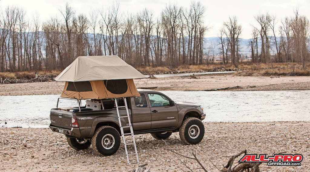 This is the new ARB Kakadu rooftop tent great addition to the top of your Aluminum PackRack! & All-Pro Offroadu0027s APex1 Extreme Overland Build | Page 17 | Tacoma ...