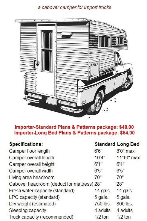 Free Homemade Truck Camper Plans Crazy Homemade