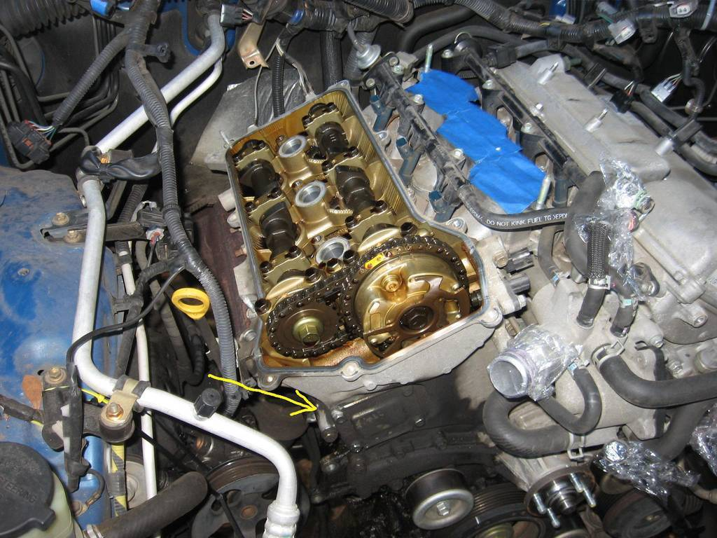 Updated T Sb 0326 08 Oil Leak Page 2 Tacoma World The Timing Belt And Front Seal On A Img