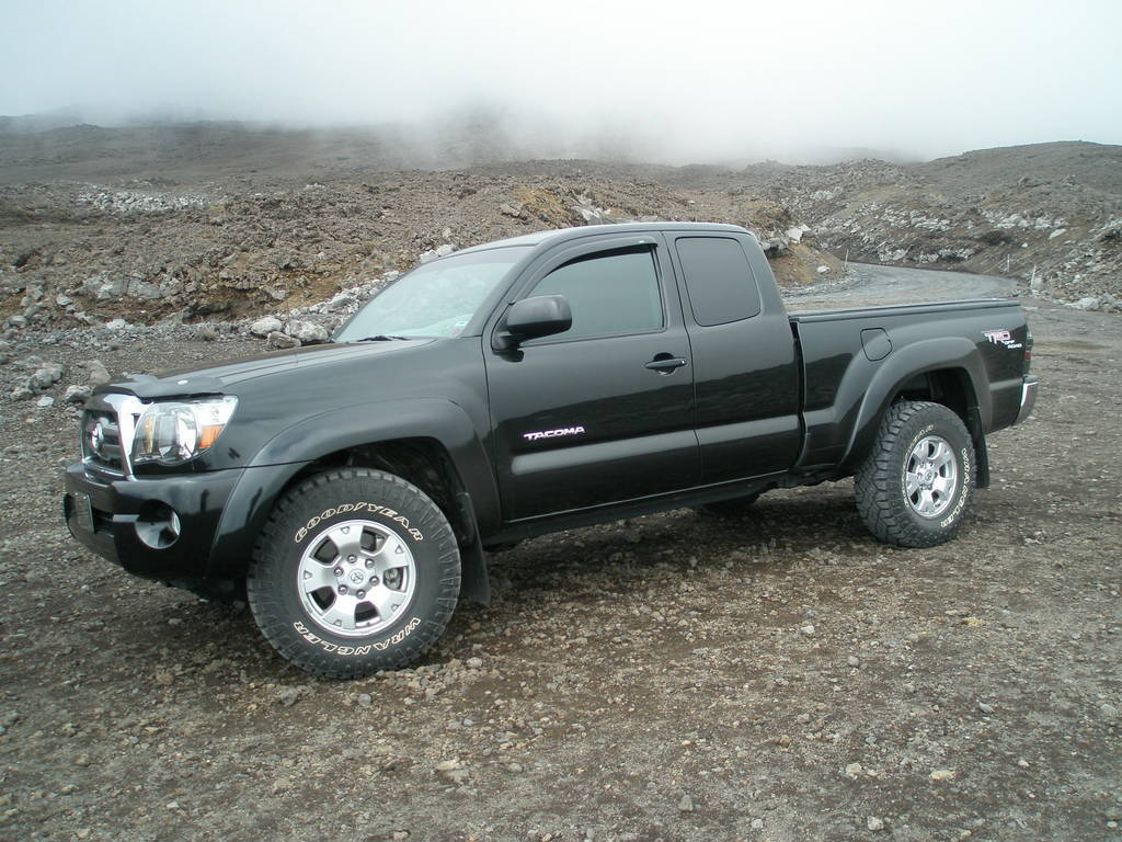 Tacoma World Forums Any One With Stock Rims But