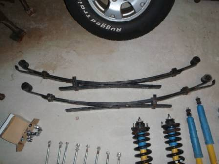 '09 Tacoma TRD Off-Road Suspension (Complete)