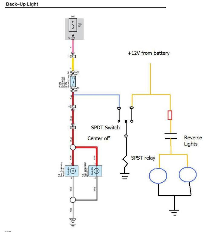 Reverse light wiring diagram images