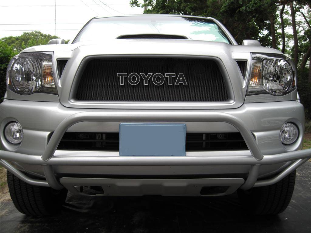 ford raptor black grill for the tacoma tacoma world. Black Bedroom Furniture Sets. Home Design Ideas