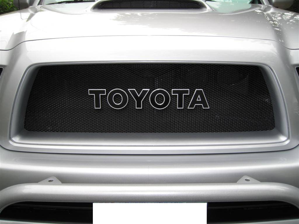 toyota grill badge autos post