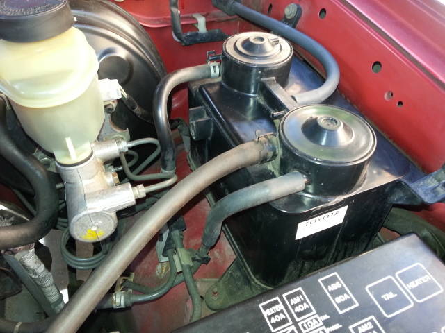 service manual  1996 toyota tacoma xtra evap vent removal