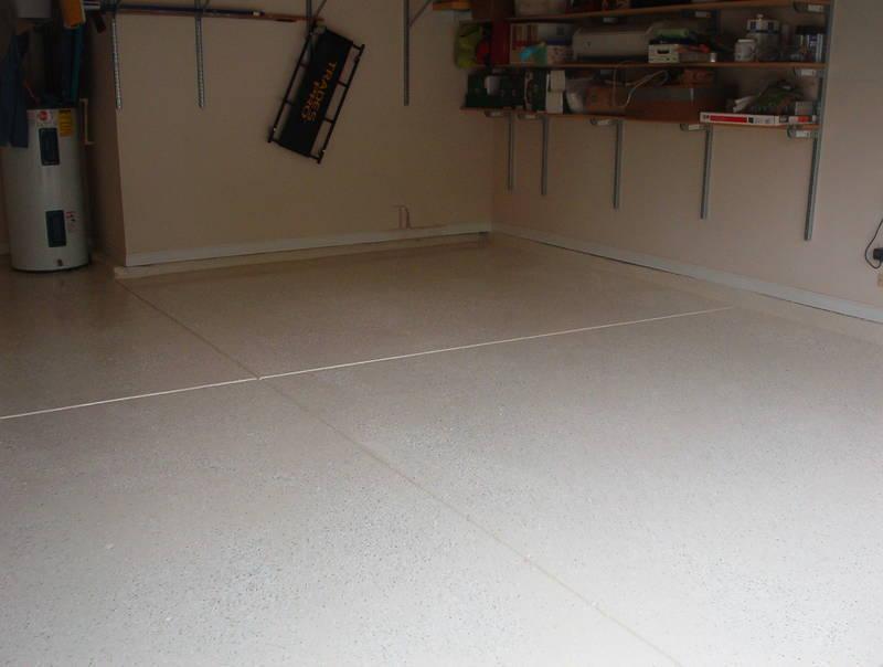 Epoxy garage floor old house epoxy garage floor for Garage floor cleaner powder