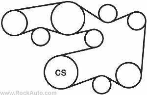 9268 Serpentine Belt Replacement on 2009 toyota tacoma serpentine belt diagram