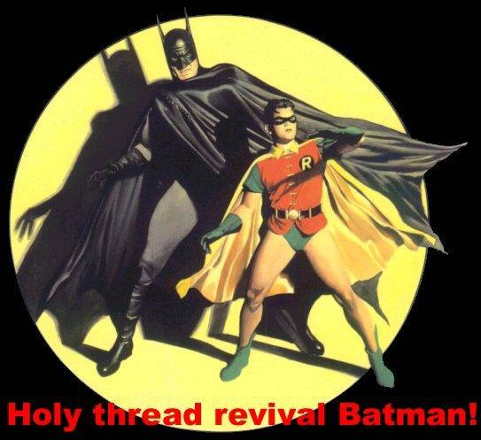 Manœuvres de combat - duel et bataille Holy-thread-revival-batman
